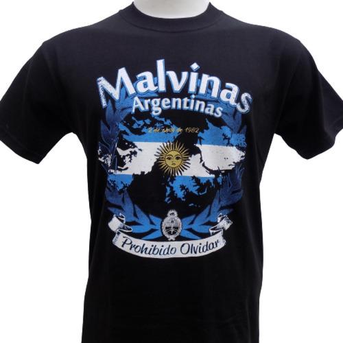Remeras De Las Islas Malvinas Bandera Argentina Que Sea Rock
