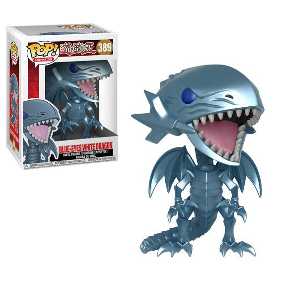 Funko Pop Blue-eyes White Dragon De Yu-gi-oh! 389