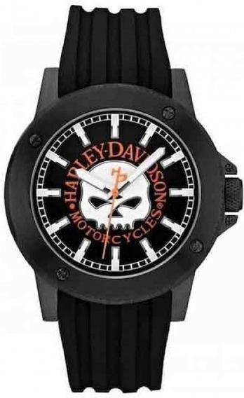 Relógio Masculino Fashion Bulova Harley Davidson Wh30466p