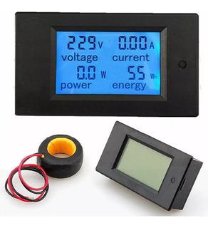 Voltímetro Digital Ac . Wattímetro Amperímetro Bivolt