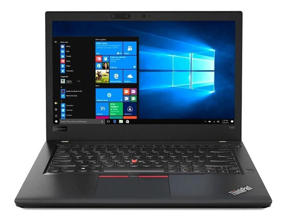 Notebook Lenovo Thinkpad I5 8gb Ssd 256gb W10 20l6scwj00