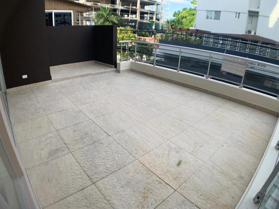 Apartamento Nuevo En El Millón, 2da Con Terraza