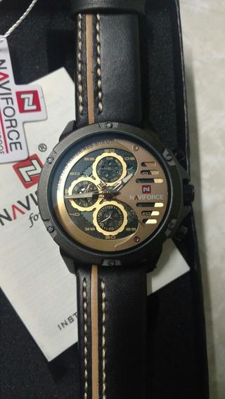 Relógio Naviforce - Couro