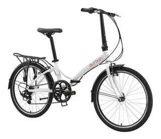 Bicicleta Dobrável Durban Aro 24 6 Marchas Suporta 95kg Bike