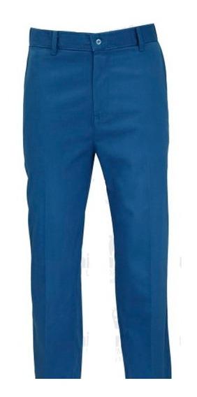 Pantalón Corte Recto Azul Cancún Para Caballero