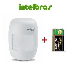 Sensor Infra Passivo Sem Fio Intelbras Ivp 2000 Sf + Bateria