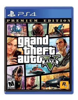 Grand Theft Auto V Premium Edition Gta Ps4 Nuevo + Mapa