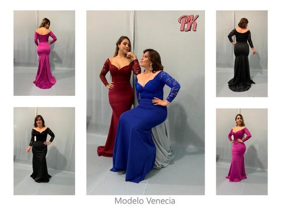 Vestido De Fiesta Modelo Venecia