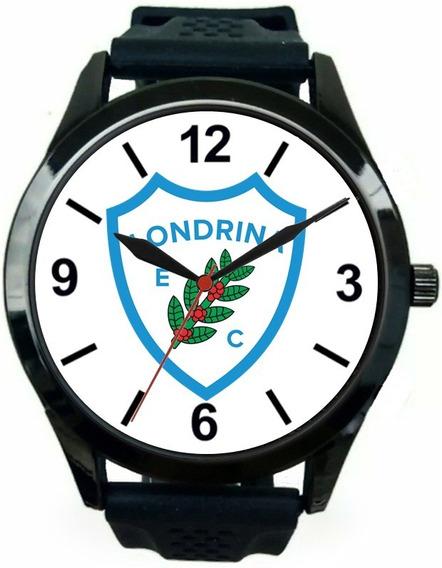 Relógio Pulso Masculino Londrina Futebol Barato Novo