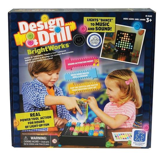 Juego Para Niños Design & Drill Brightworks