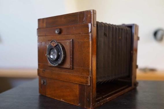 Camera Antiga De Fole Excelsior Field Da Emil Wünsche
