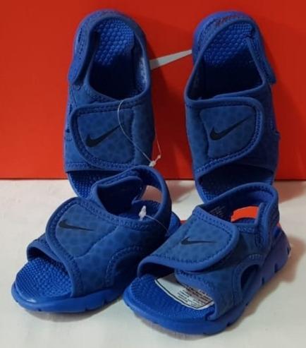 Sandalias Nike De Niños Sunray Adjust 4 Talles 19 / 22