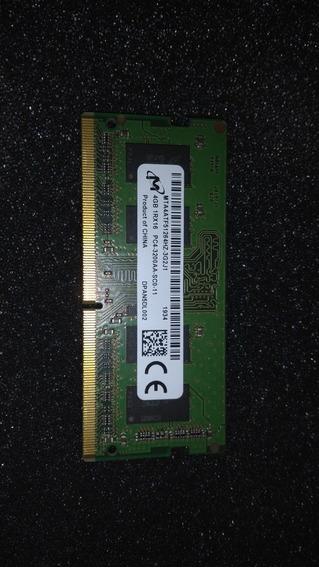 Memoria Ddr4 4 Gb Genérica . Funcionando En Perfecto Estado