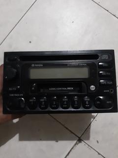 Reproductor Original Toyota Am/fm Cd Auxiliar Cassette