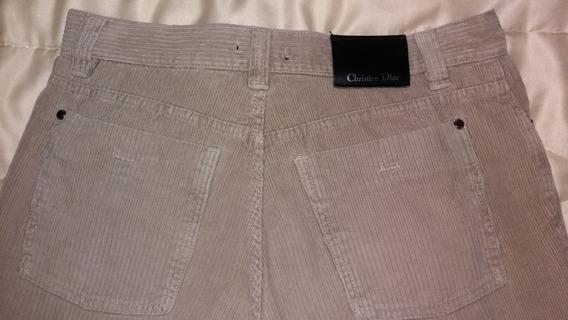Pantalon De Corderoy Christian Dior