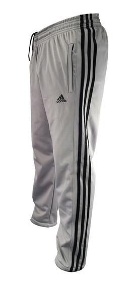 Pantalon Adids Retro Recto Hombre Deportivo Trefoil Acetato