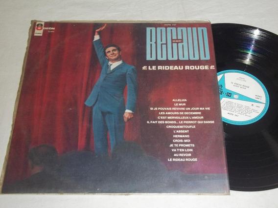 Lp Vinil - Le Rideau Rouge - Gilbert Becaud - 1968
