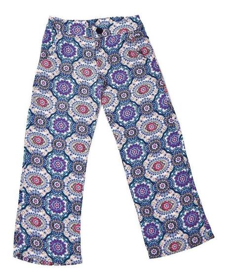 Pantalón Nena Verano Semi Oxford Nucleo. Regalosdemama