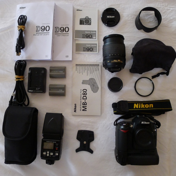Camera Nikon D90 Em Ótimo Estado (19.000cliks) C/acessórios
