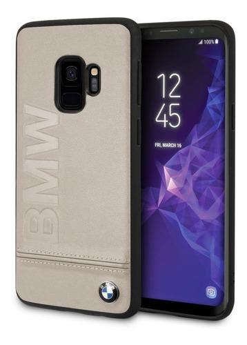 Forro Funda Bmw Signature Logo Imprint Hard Galaxy S9