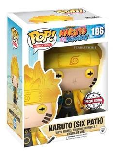 Funko Pop Naruto Six Path 186 Special Edition Orig Scarlet