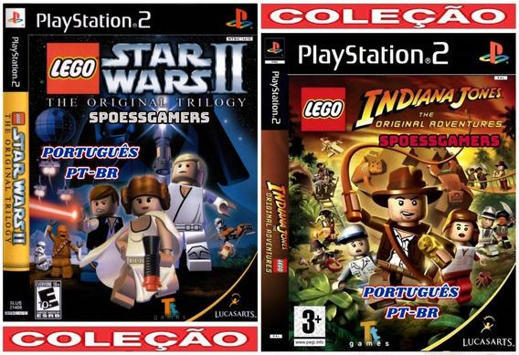 Lego Coleção Pt-br Infantil (2 Jogos) Ps2 Desbloqueado Patch