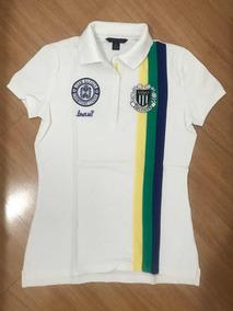 Camiseta Polo Tommy Hilfiger Original - P/s Feminina Usada