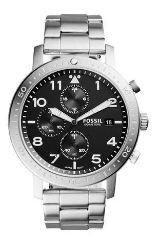 Relógio Fossil Masculino The Major Chrono Timer Ch3082/1pn