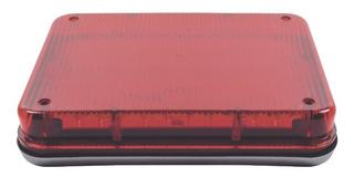 Luz De Advertencia 9 X 7 PuLG Color Rojo Xlte515r Epcom