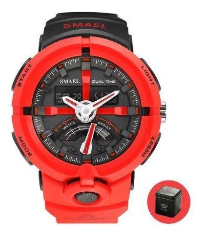 Relógio Smael Original A Prova D Água 50 Promoção