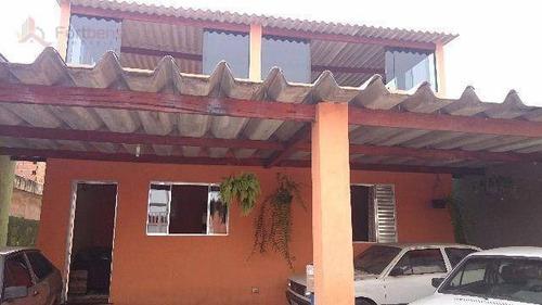 Casa À Venda, 170 M² Por R$ 360.000,00 - Parque Paulista - Franco Da Rocha/sp - Ca0135