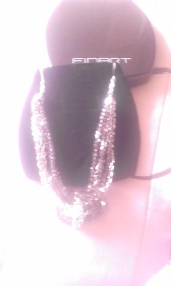 Finart, Lebel Collar Cadena Amarre De Amor, Envio Gratis