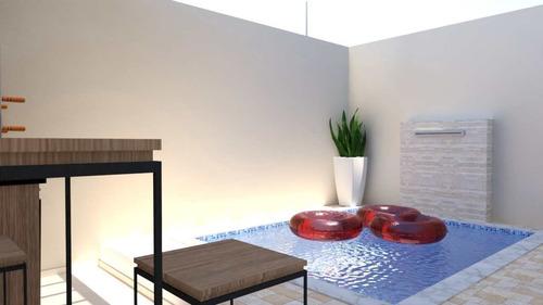Casa Com 2 Dorms, Balneário Jequitibá, Itanhaém - R$ 229 Mil, Cod: 3043 - V3043