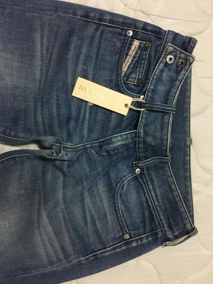 Calça Jeans Feminina Diesel Azul Escura