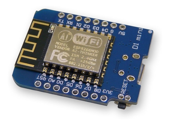 Nodemcu Wemos D1 Mini Wifi Esp8266 Esp12f Arduino