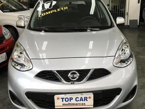 Nissan March 1.0 Sv 2017 - Mensais De R$ 799,00