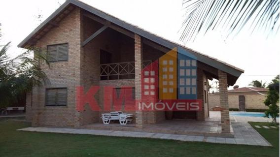 Vende-se Linda Casa Com Piscina Em Tibau - Ca0340