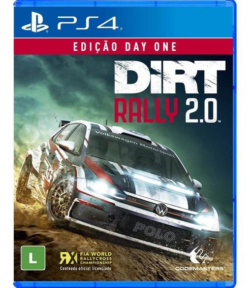 Dirt Rally 2.0 Ps4 Edição Day One Mídia Física 12x S/juros