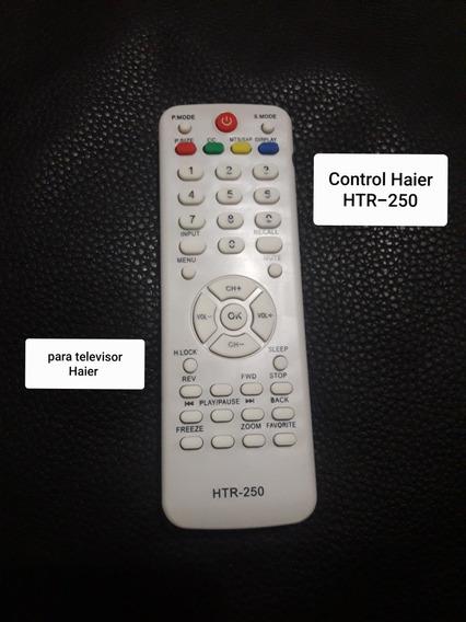 Control Para Tv Lcd Htr-250 5verdes