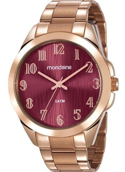 Relógio De Pulso Feminino Mondaine 78749lpmvra2