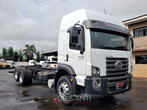 Volkswagen Vw 24.280 Constellation Ano 2015/15 6x2 No Chassi