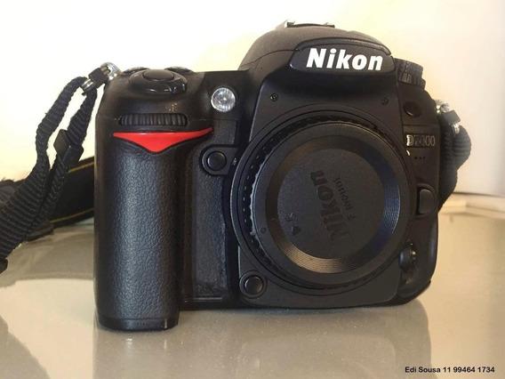 Câmera Fotográfica Com Lente Nikon D7000 Lente 18-55