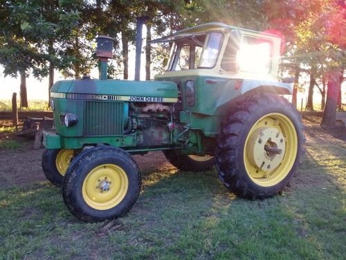 Tractor John Deere 2140 Doble Embrague, Motor Turbo 100 Hp