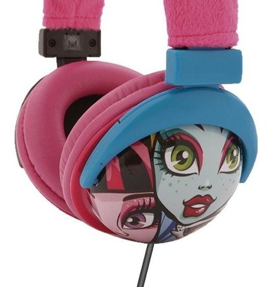 Fone De Ouvido Headphone Monster High Ph107