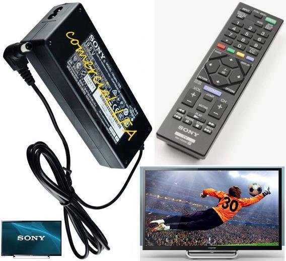 Kit Original Para Tv Sony Controle Sony Rm-yd093 + Fonte E03