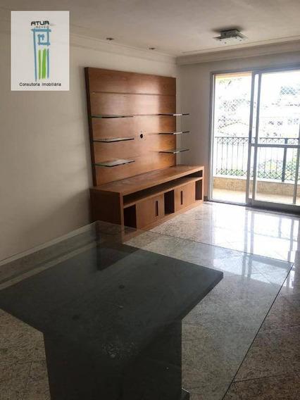 Apartamento Com 3 Dormitórios À Venda, 73 M² Por R$ 0 - Parque Mandaqui - São Paulo/sp - Ap0497