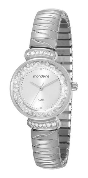 Relógio Feminino Mondaide 83363l0mvne2 Black White