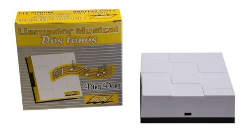 Timbre Musical Ding Dong Mecanico 220/12v Mjk 212