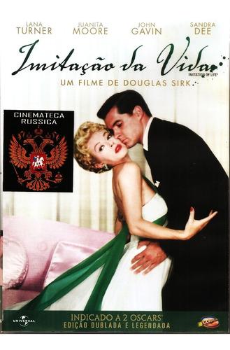 Dvd Imitação Da Vida, Lana Turner J.gavin Sandra Dee 1959 +