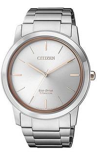 Reloj Hombre Citizen Aw2024-81a Titanio Eco Agente Oficial C